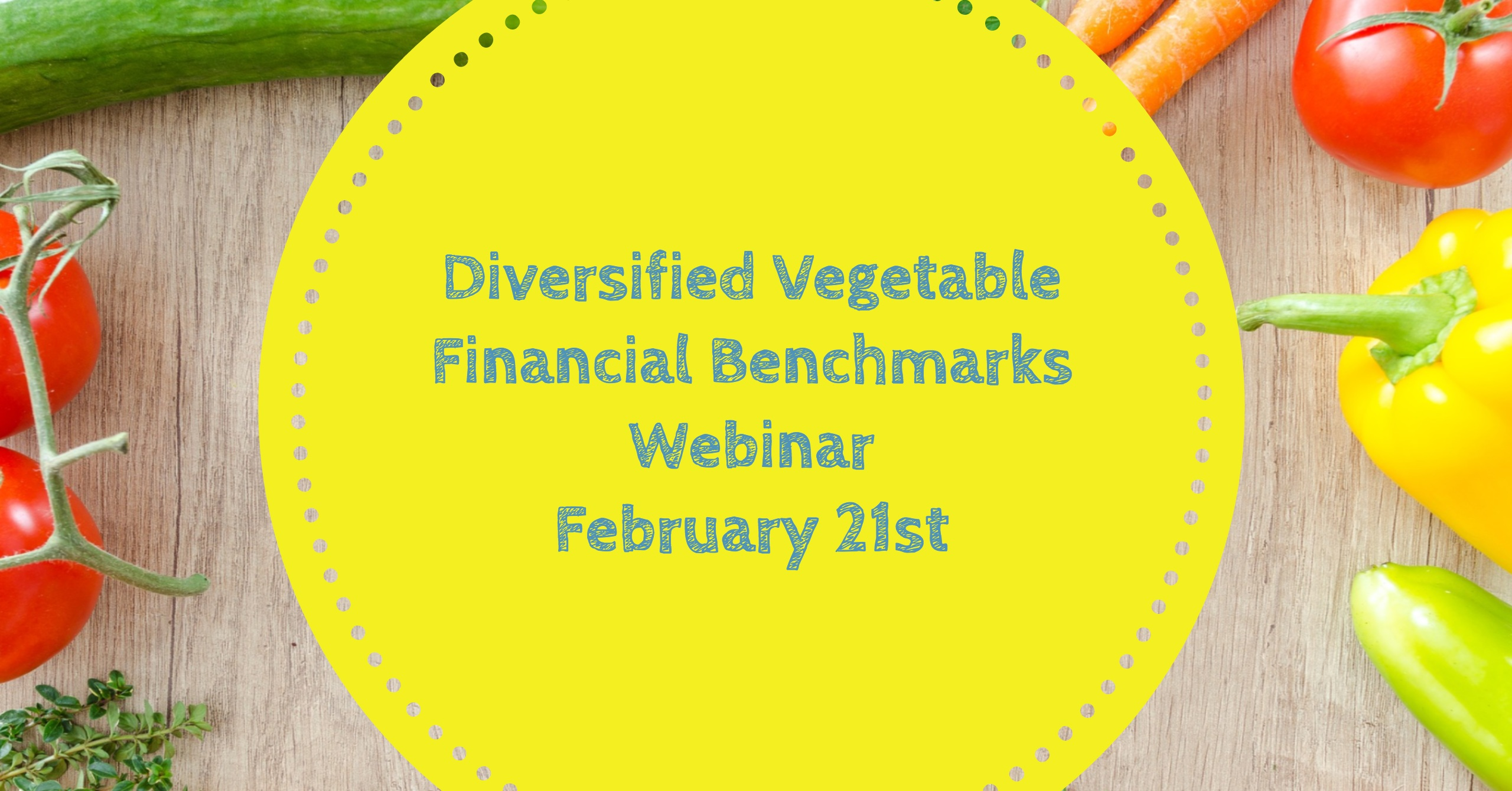 Diversified Vegetable Farm Financial Benchmarks Webinar